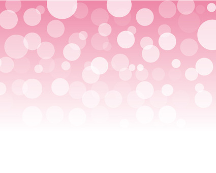 Dots ball of pink