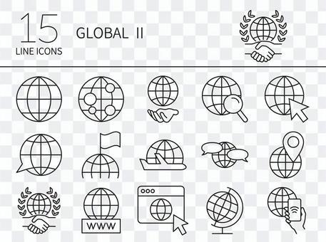 Global icon set 2