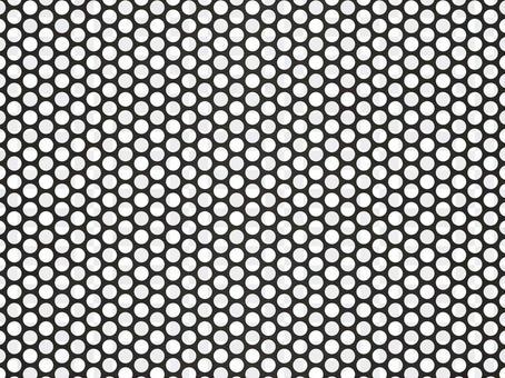 沖孔板壁紙(45px圓孔/黑色)