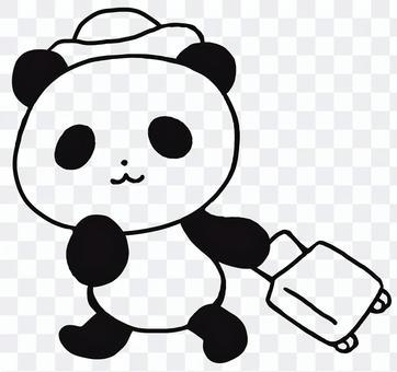 旅行パンダ1