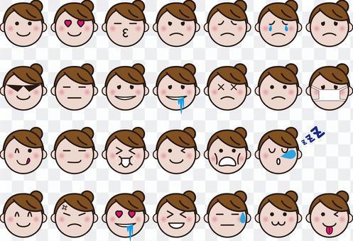 Face icon set vol.3