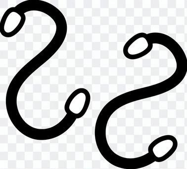 S shape hook