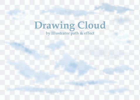 雲部件SET