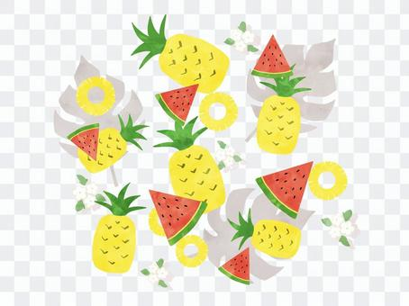 夏のフルーツ