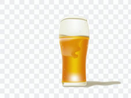 生啤酒的插圖
