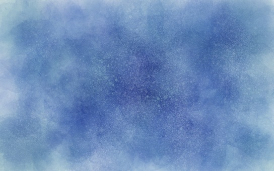 Watercolor all over blue