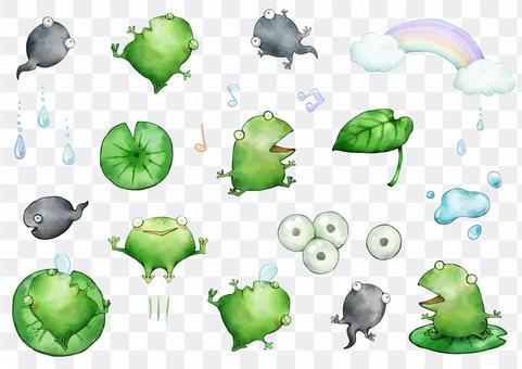 青蛙設置圖