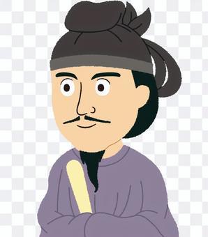Shotoku王子的插圖