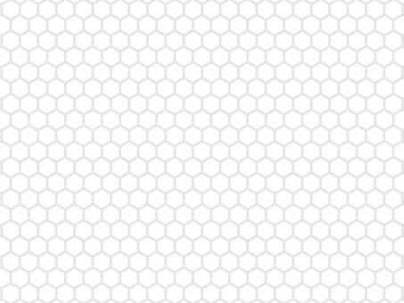 網狀六角蜂窩背景白色