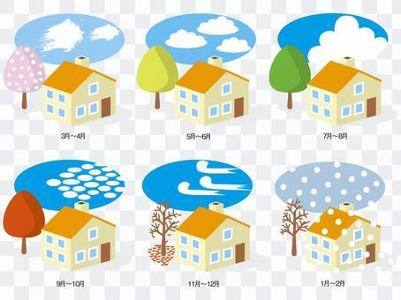 All seasons house 3