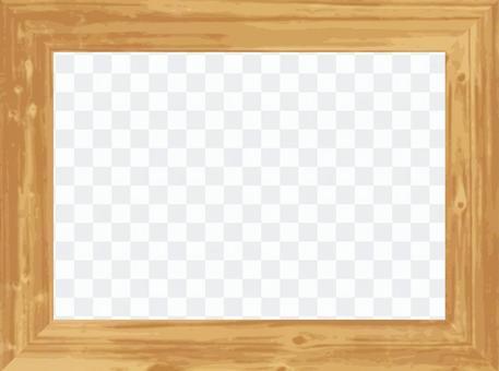相框L尺寸(木紋/透明)
