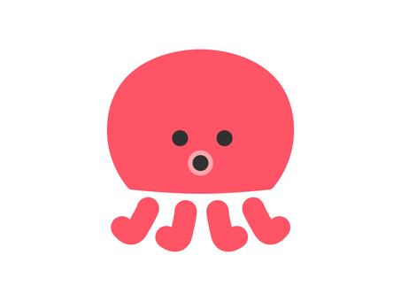 Octopus illustration cute
