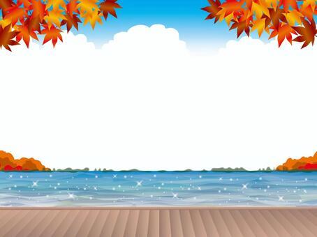 岸上的甲板(4)秋天的新鮮綠色