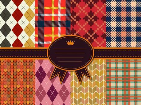 秋冬季圖案系列針織亞皆老街