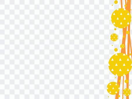 日本圖案frame_line and scale pattern_R