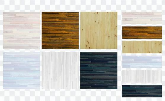 Colorful black and white wood texture background material