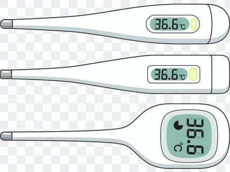 3種溫度計
