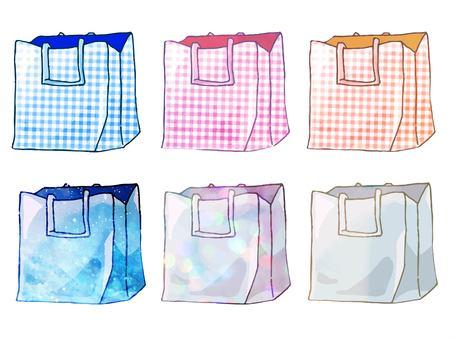 Fantastic cute eco bag set