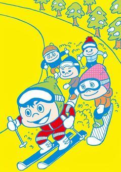 滑雪滑雪板