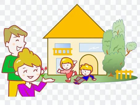 chacha家庭和房子