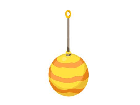 氣球溜溜球圖標