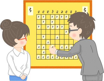解釋將棋的人