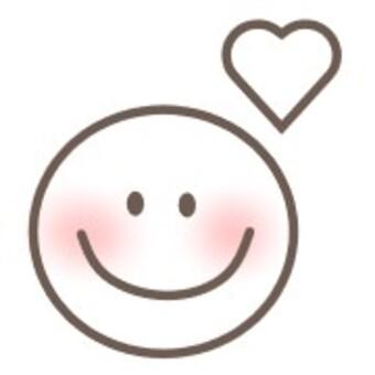 透明笑臉笑心