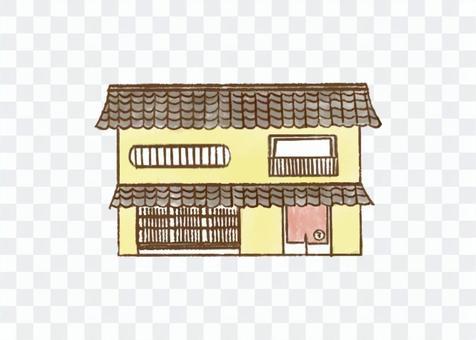 手繪風格的京都聯排別墅/長居