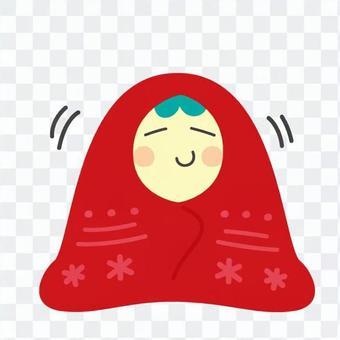 Warming children