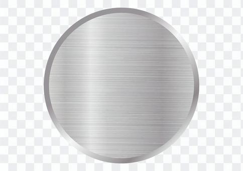 メタル 鉄 フレーム プレート 丸