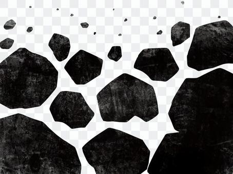 Collapsed rock image illustration 2