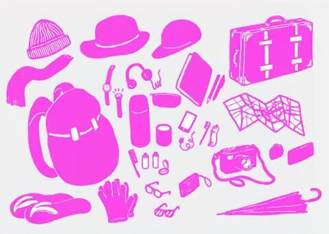 Travel Goods Pink