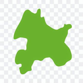 長野市:地方地図