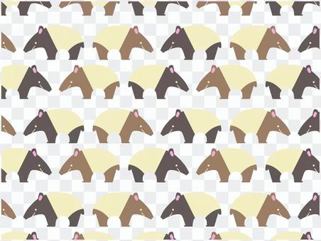 Baku seamless pattern
