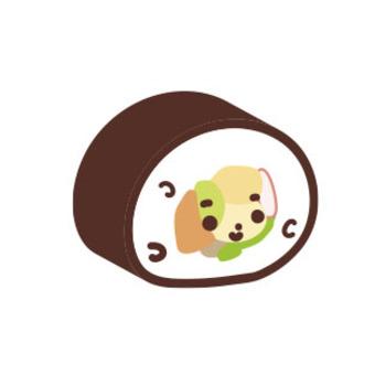 サーモン巻き_巻寿司