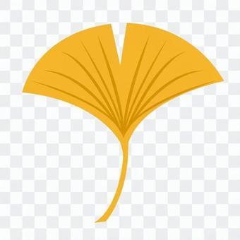 银杏叶(黄)