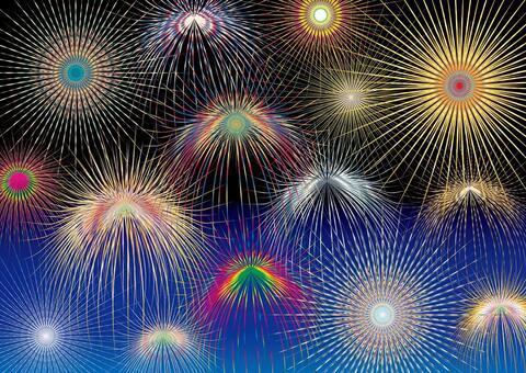 Fireworks Fireworks festival festival events Summer vacation