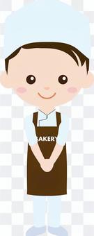 人們職業製服(男士)麵包店