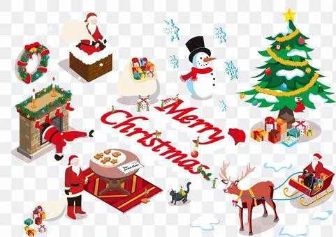クリスマスアイコンセット2