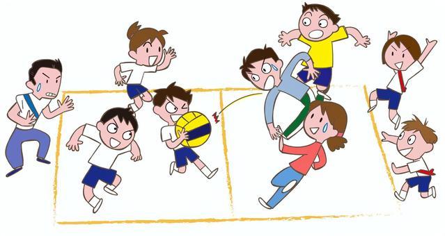 Parent and child dodgeball
