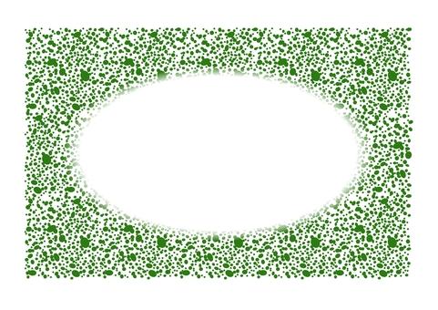 噴塗圖片留言卡(綠色)