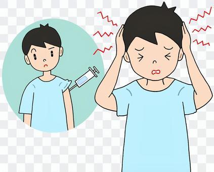 疫苗副作用/頭痛