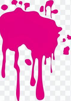 液體飛濺,油漆飛濺