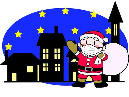 聖誕老人在夜城蒙面