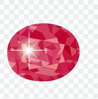 紅寶石首飾