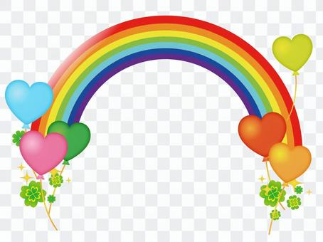 Heart and Clover and Rainbow
