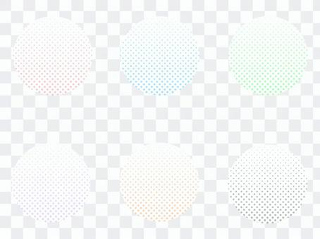 圓形漸變點的類型