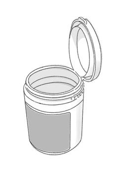 瓶口香糖5(黑白)