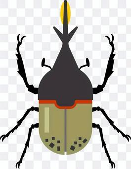 大力神甲蟲