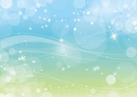 Glitter background material Summer color